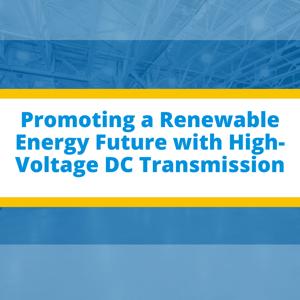HVDC, renewable energy