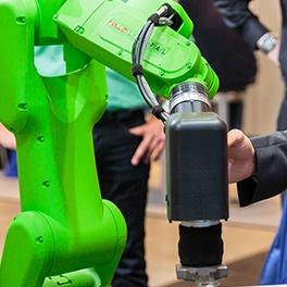 Safe collaboration between human and collaborative robotCR-7iA L.jpg